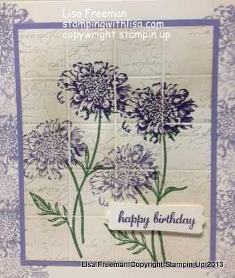 Another Field Flower Card