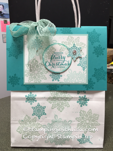 Flurry of Wishes Gift Bag!