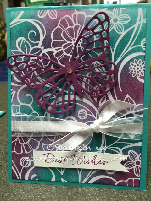 Irresistibly Floral Designer Series Paper is Gorgeous!