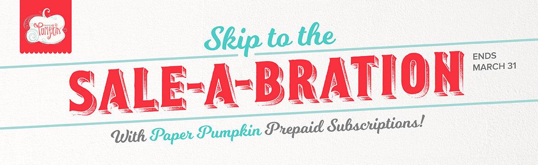 Paper Pumpkin is on Sale!!