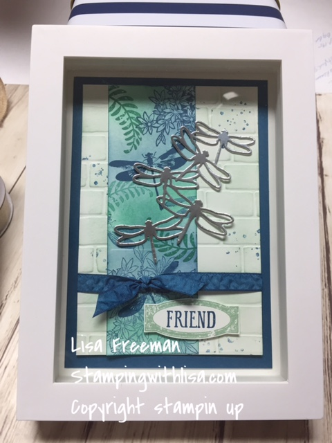 Dragonfly Dreams Framed Art Tutorial