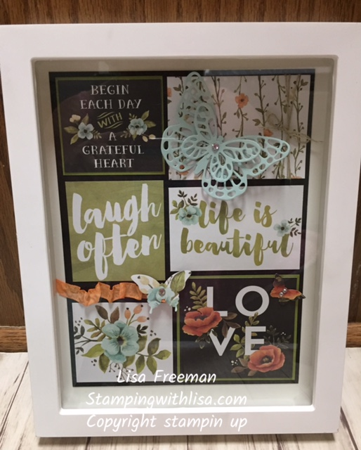Hello Lovely Framed Art and Card Set
