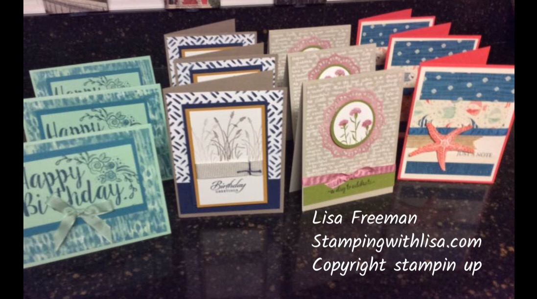 saying goodbye to old friends  stamping with lisa