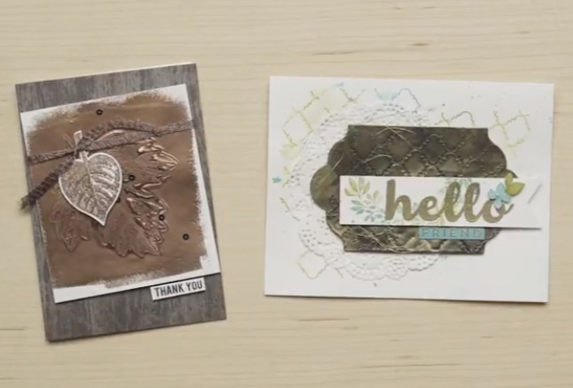 Embossing Technique Video from Stampin Up!