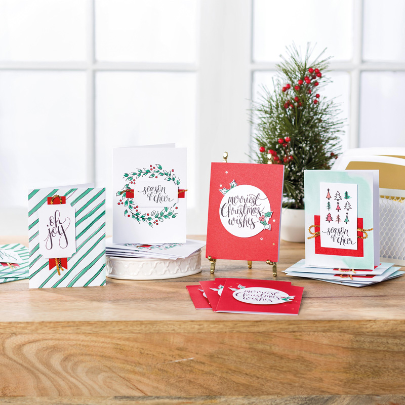 Watercolor Christmas Project Kit from Stampin Up!