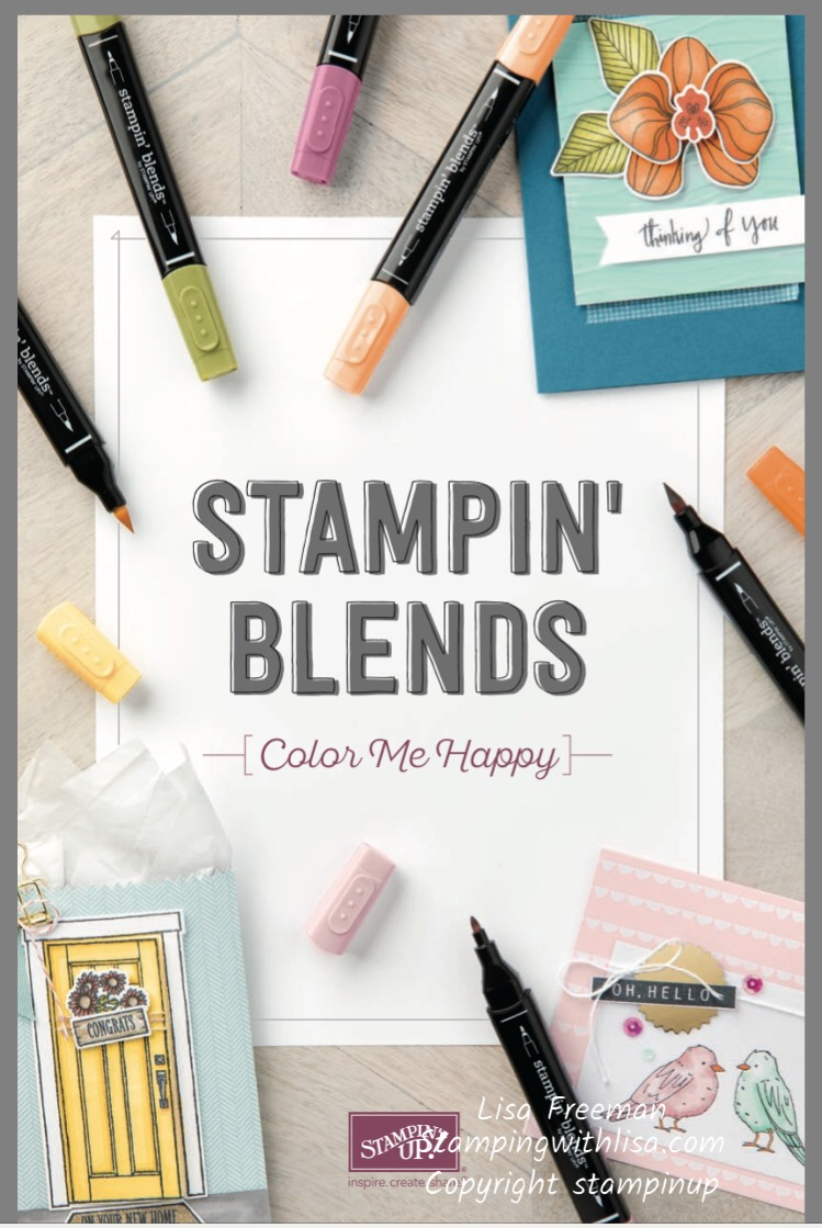 Get Your Stampin' Blends and Bonus Items TOO!!