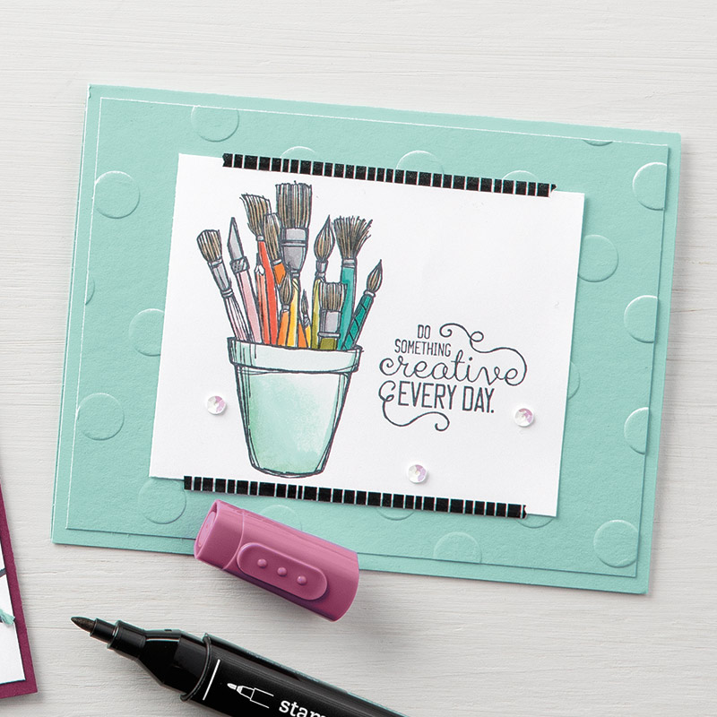 Check Out What You Can Do With the Stampin Blends Color Lifter!