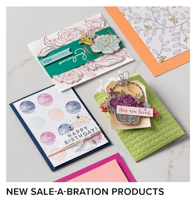 New Sale-A-Bration Items Added!!!