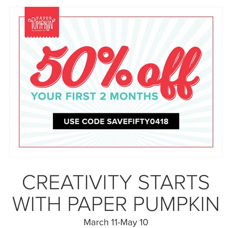 March 2018 Paper Pumpkin Alternative Ideas