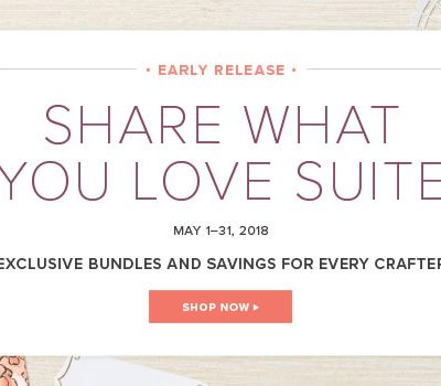 Share What You Love Suite!!! Gotta Have it All!!