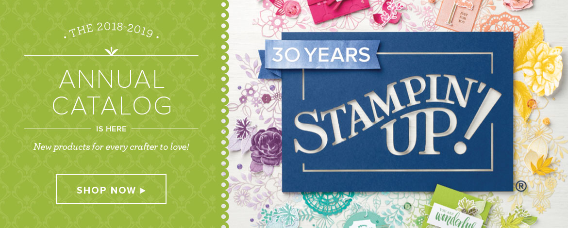 Stampin Up new catalog is here!