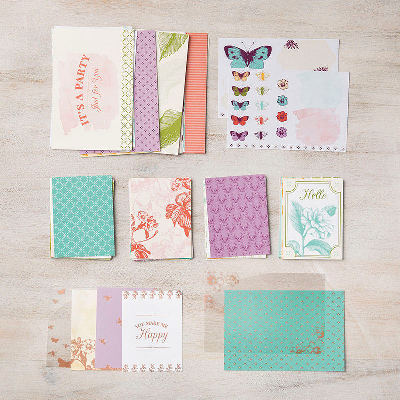 Stampin Up Time for Tea Suite