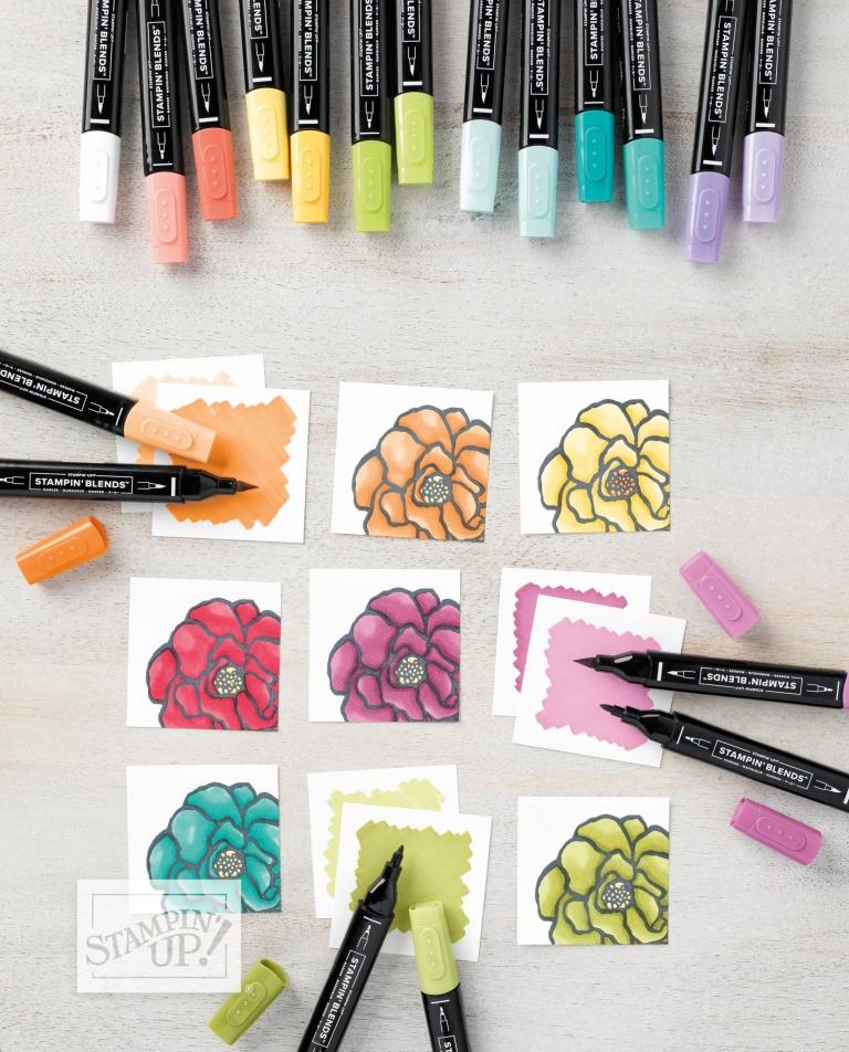 New stampin blends are now available!