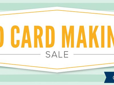 World Card Making Week Specials!!