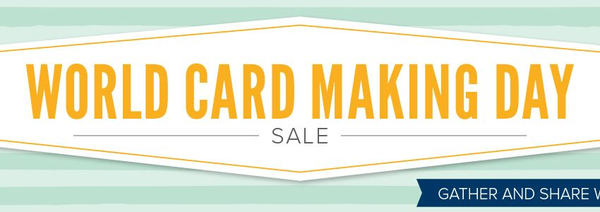 world card making day deals
