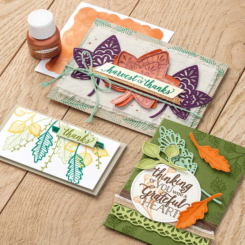 stampin up farmhouse bundle