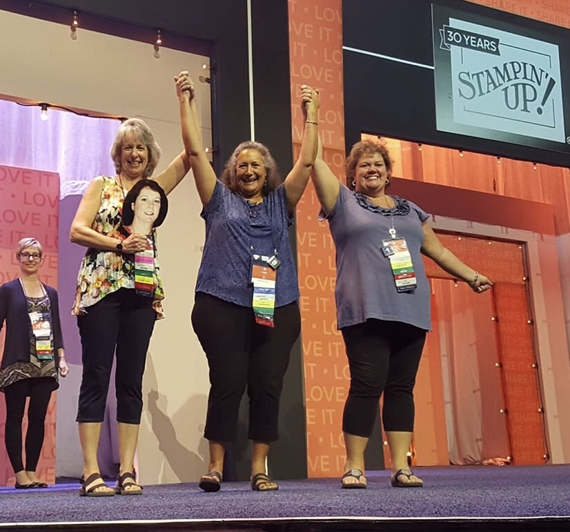 stampin up onstage