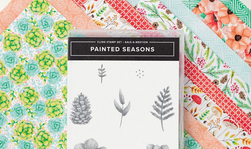 Stampin Up Sale-a-bration 2nd Release