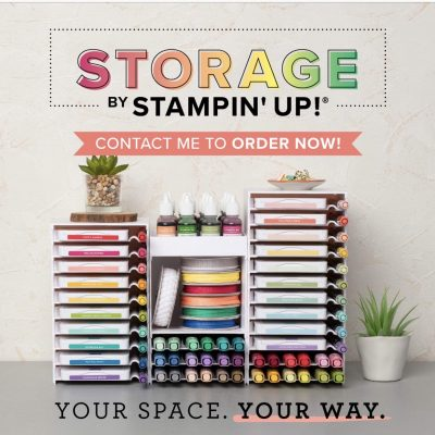 New Stampin' Up Organizers Are Here!!