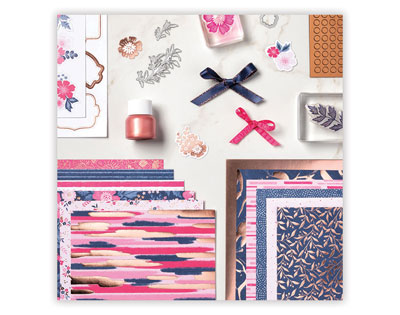 everything is rosy stampin up