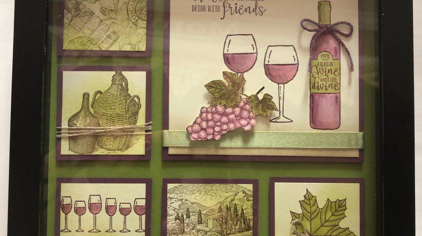 Tuscan vineyard framed art