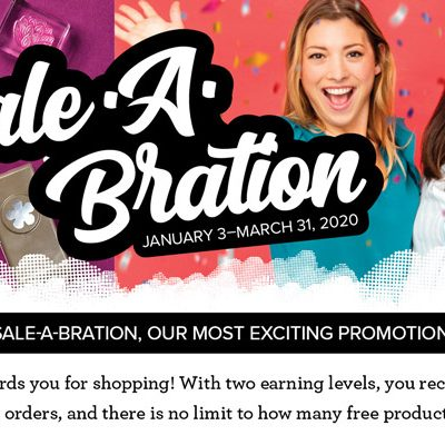 It's Time to SALE-A-BRATE!!!!