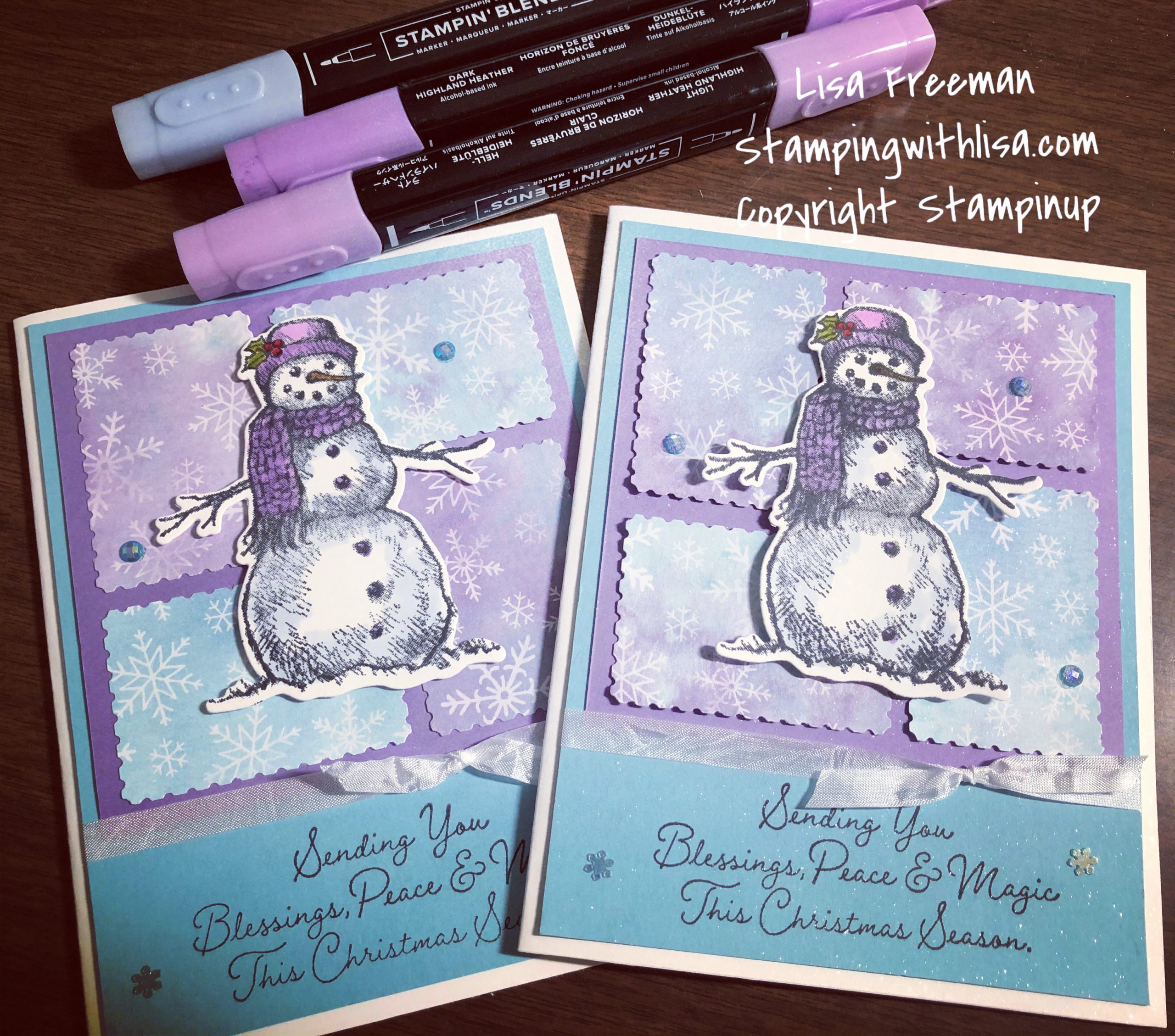 snow wonder bundle card
