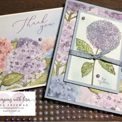 Hydrangea Haven stamp set