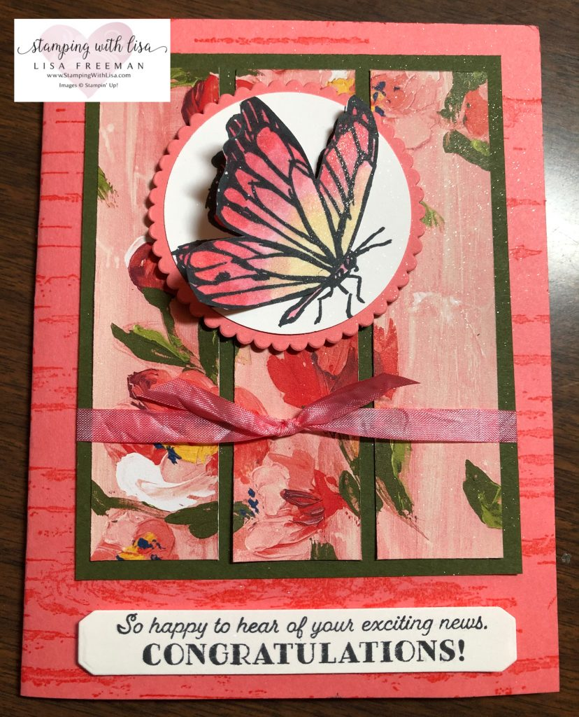 a touch of ink stampin up