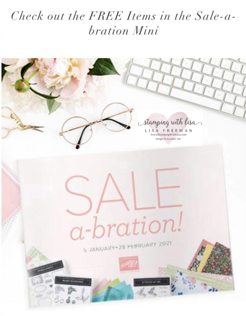 stampin up new sale-abration mini 2021