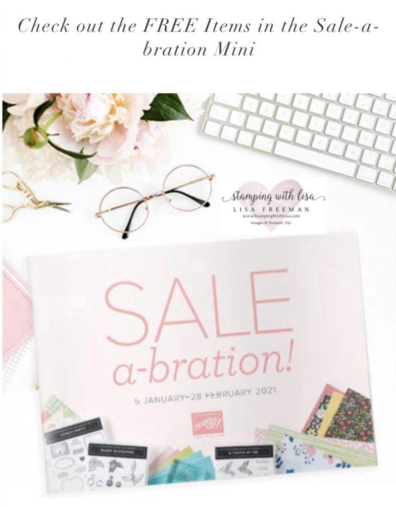 stampin up new sale-abration mini 2021