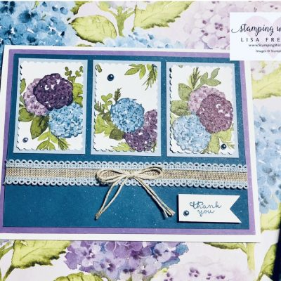 Hydrangea Hill February Card Kit in the Mail Project 1