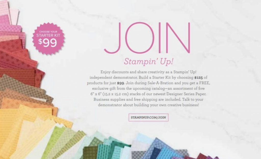 stampin up sale-abration