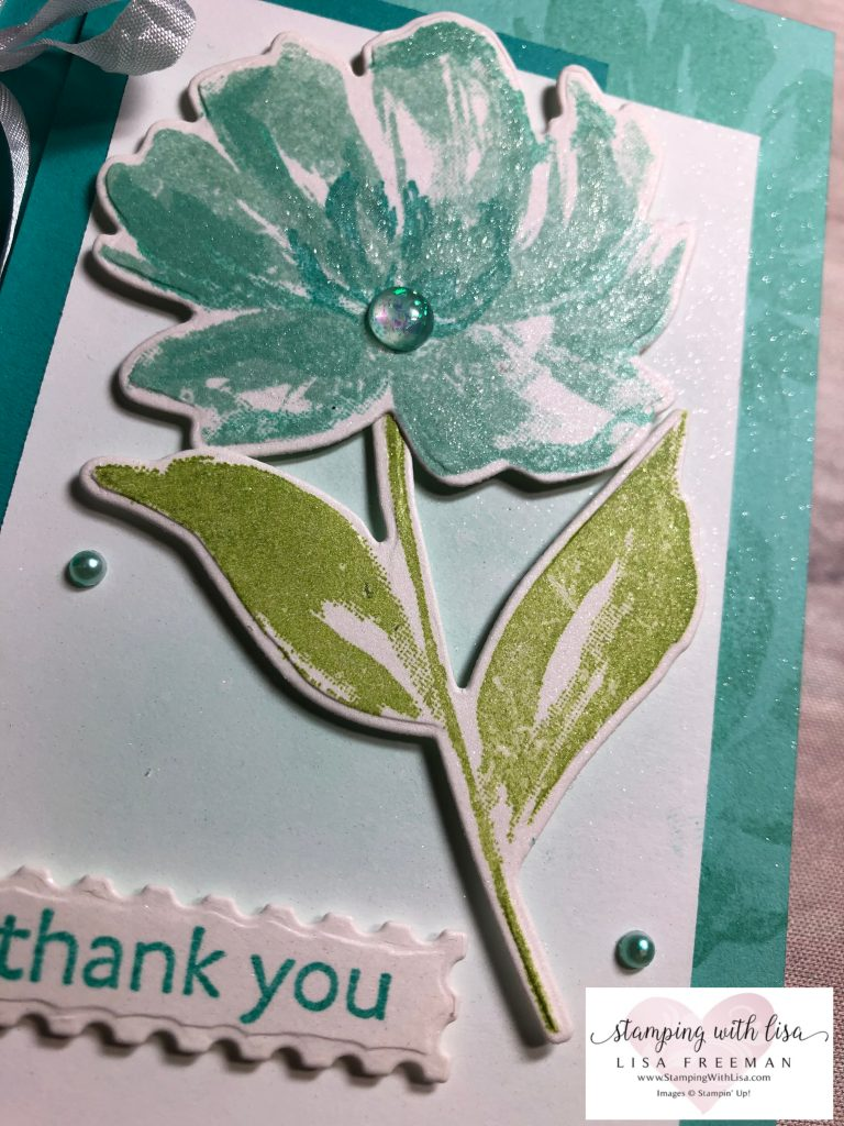 stampin up art gallery card