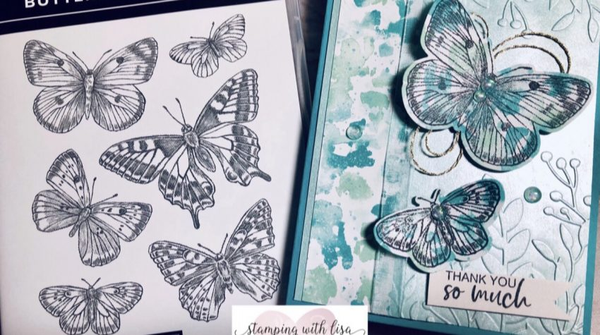 butterfly bouquet suite stampin up