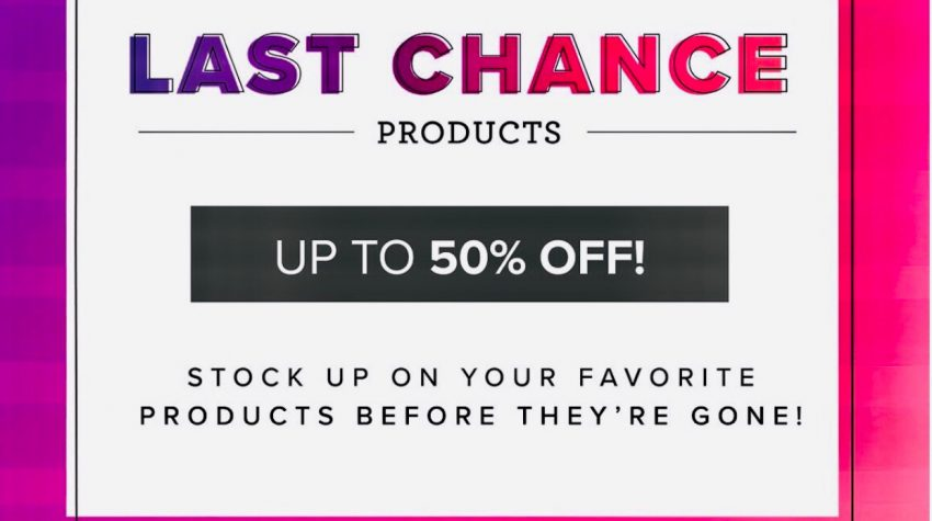 stampin up last chance list sale