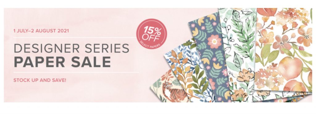 stampin up dsp sale! 15% off