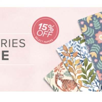 Stampin Up Designer Series Paper Sale Starts July 1st!!!