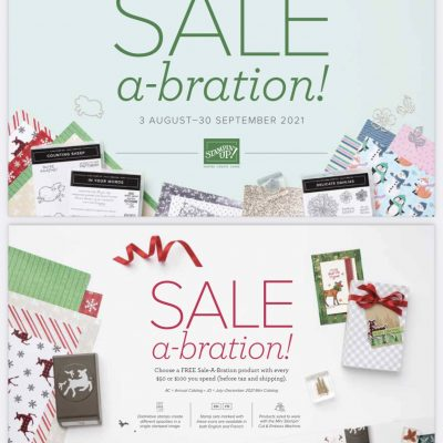 Holiday Mini and Sale-abration Catalogs start Today!!!
