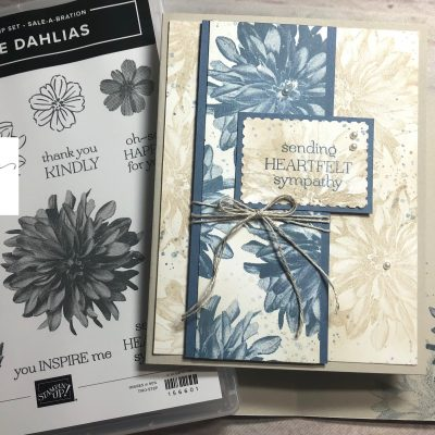 Delicate Dahlias! Stampin Up Sale-abration 2021!