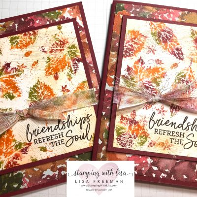 Baby Wipe Technique and One Sheet Wonder with Gorgeous Leaves! Plus Tips!!